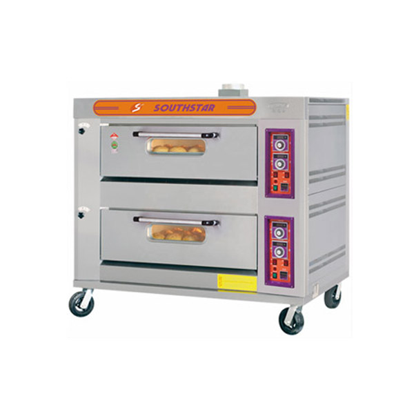 Gas 2 Deck Oven (pizza oven)-YXY-40A